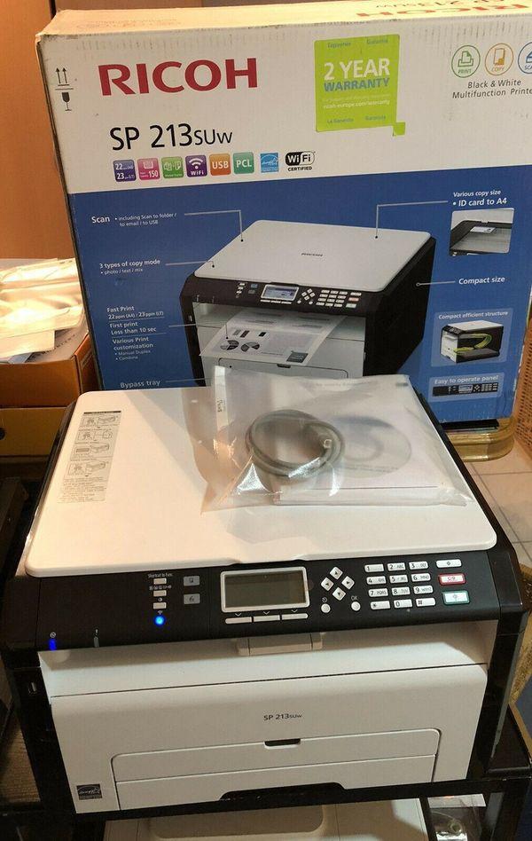NEU Laser Multifunktionsdrucker RICOH SP