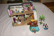 Playmobil Luxus-Villa mit viel Zubehör