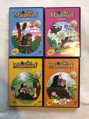 4 DVDs Maulwurf für Nikolaus