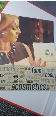 Luxus goldblatt Gesichtsbehandlung
