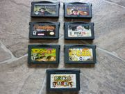 Nintendo Game Boy Advance Spiele