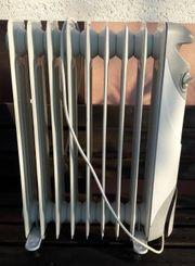 Elektroheizung Ölradiator