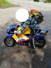 kinder motorrad HONDA benzin