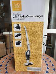 Neuer unbenutzter Akku-Staubsauger 2 in