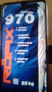 25 Säcke Zement-Estrich a 25