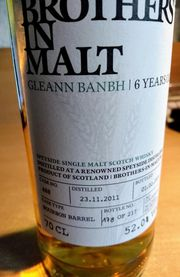 Whisky Brothers in Mal Gleann