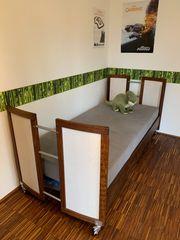 Kinderbett Jugendbett aus geöltem Massivholz
