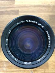 Teleobjektiv Vivitar 75-205mm für Spiegelreflexkamera