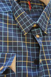Herren Hemd mit Klettverschluss Einfach