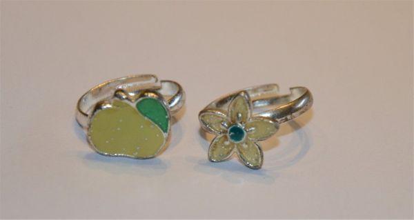2 hübsche Ringe für Mädchen