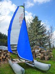 Minicat 310 Segelboot aufblasbar Katamaran