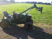 Traktor Kleintraktor mit Hydraulik und