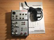 5 Kanal Phonic Mixer AM120