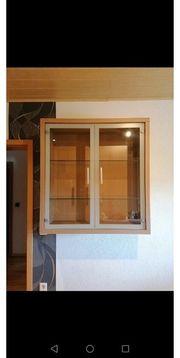 Hängeschrank mit Glastüren