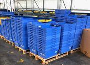 Kunststoffkisten 100 Stk Lagerkisten Stapelkisten