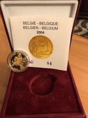 50 Euro 2004 Goldmünze Belgien -