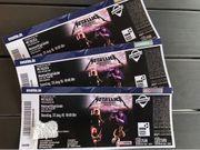 Metallica 3xStehplatz 25 8 Mannheim