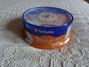 DVD-R -Rohlinge Verbatim 25 Stück -