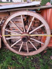 altes Wagenrad 105 cm
