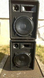 Große Lautsprecher gut erhaltene zum
