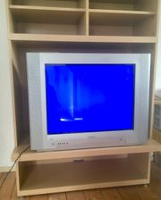 TV-Schrank mit Fernseher zu verschenken