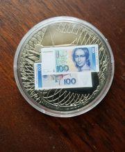 Medaillie Abschied einer Währung DM