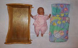 Puppen - Zapf Creation Puppe im Holz