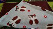 NEUE Fleece Nicki Decke 70x57cm