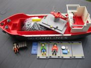 PLAYMOBIL 4472 Frachtschiff Containerschiff