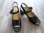 Echt Leder Schuhe Schwarz leicht