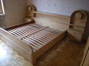 Doppelbett-Anlage 200 x 200 echt