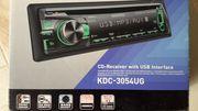 Auto-CD-Reiceiver mit USB-Anschluss
