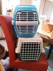 Katzenbox transportbox in Blau 8