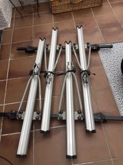 Fahrrad-Dachträger für Reling