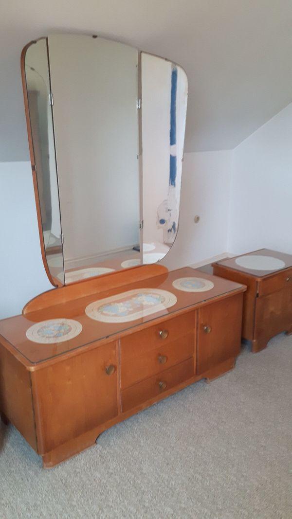 Schlafzimmer aus den 50er Jahren zu verschenken in Frankenthal ...