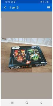 star wars Puzzle neu