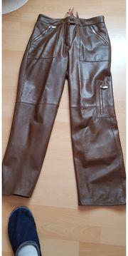 Hochwertiger Leder-Hosenanzug Gr 38-40 NEU