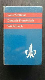 Woerterbuch Deutsch Franzoesisch Gebraucht