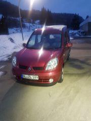 Renault Kangoo Heckeinstieg Rollstuhlrampe Seilwinde