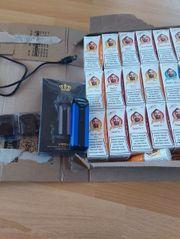 E-Zigarette mit Liquids