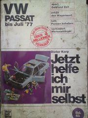 VW Passat Reparaturanleitung bis Juli