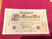 Reichsbanknote 1000 Mark 21 April