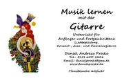 Gitarrenunterricht in Limburg Diez und