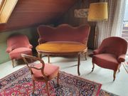 Sofa 2 Sessel 1 Stuhl