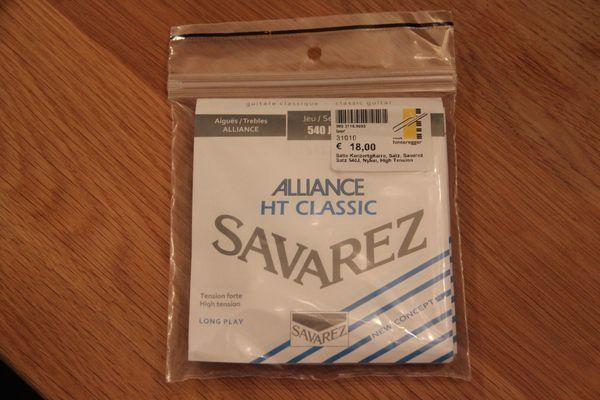 Gitarrensaiten Set Savarez 540J