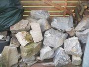 Trockenmauer Steine Garten