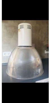 Lampe Leuchte Industrie Siemens Metall
