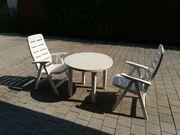 Gartentisch 2 Gartenstühle