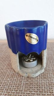 Syrykyd Duftöl- Lampe in Handarbeit