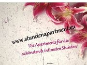 Exklusive Apartments Zimmer stundenweise zu